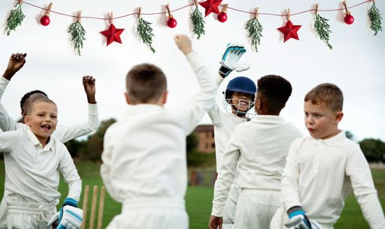 Cricket club christmas party